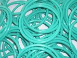 Joints circulaires en caoutchouc colorés adaptés aux besoins du client du joint circulaire/FKM