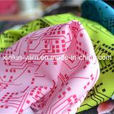 衣服または袋または台所エプロンのための漫画によって編まれるポリエステル花の印刷ファブリック