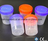 Sputum-Cup (Überwurfmutter) pp. 60ml mit Cer, Bescheinigung ISO13485