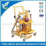 小型卵置くブロック機械、小さく移動可能で具体的な煉瓦機械