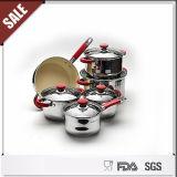Nuevo sistema del Cookware de la flor del acero inoxidable del artículo