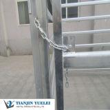 De hoge die Omheining van het Vee van de Deklaag van het Zink voor Vee/de Hindernissen van het Vee met Goedkoop wordt gebruikt (x-y-003)