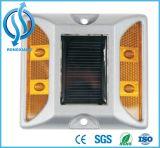 Etiqueta de plástico solar plástica del pavimento de camino