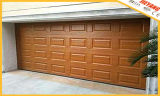 Blocks Style Wooden Color Garage Door
