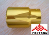Kundenspezifisches Matt-Anodisation CNC-Aluminium-Teil