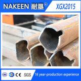 Cortadora de tres ejes del tubo de acero del CNC