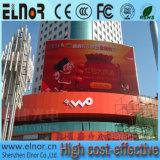 Quadro de avisos ao ar livre do indicador de diodo emissor de luz da cor cheia P10 do consumo das baixas energias