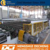 O papel enfrentou a linha de produção máquina da placa de gipsita
