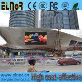 HD를 광고하는 Elnor 풀 컬러는 P10 옥외 LED 표시를 방수 처리한다