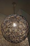 Moderna de la bola de la cuerda decorativo luz colgante (KA8092-1D)