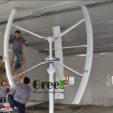 3kw Contollerおよびインバーターが付いている縦の軸線の風発電機