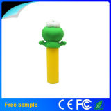 PVC Frog Cartoon 2600 Milliamperestunde Mobile Power/Portable Power Bank