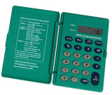 De Medische Calculator van Crcl van de Ontruiming van de creatinine met Ce en RoHS (dsc2121-CRCL)