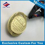 取り外し可能な回転の金メダルはメダル金によって終えられるスポーツ賞を回す