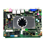 9V Gleichstrom Integrade Graphics Mainboard mit Intel D2550 CPU