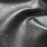 Кожа PU масла способа Waxy Semi для драпирования софы, мебели (768#)