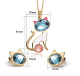 Edelstahl Jewelry Fashion Jewellery Set (hdx1086)