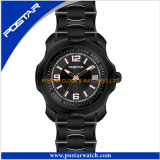 Relógio de forma de venda quente dos relógios de cristal novos das mulheres do projeto da forma