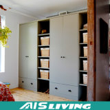 Самомоднейшая лоснистая конструкция шкафа шкафа доски меламина (AIS-W203)