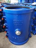 죔쇠, 수선 고리, 캡슐에 넣기 고리, 똑바른 철 관 H300X500, 파란 색깔, 온라인 누출 수선을%s 쪼개지는 고리를 고치십시오