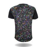 남자 t-셔츠를 인쇄하는 도매 형식 고품질 승화