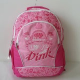 Мешок школы спорта перемещения портативного компьютера печатание девушки, задняя часть - пакет, Backpack