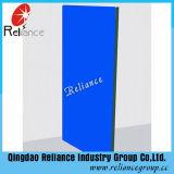 glace de flotteur teintée bleu-foncé de 4mm-12mm/glace en verre/bleue bleu teinté de flotteur en verre de guichet/mur en verre