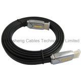 Cable plano del metal M/M HDMI para el jugador de PS4/de la TVAD/de HD