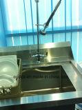 Roestvrij staal 304 van de hoogste Kwaliteit Werkende Lijst voor de Machine van de Afwasmachine