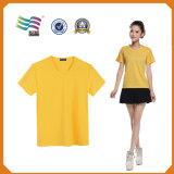 Изготовленный на заказ рубашки тройника с печатание логоса (HY8790)