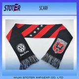 昇進のフットボールのファンのニットのスカーフ