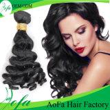 prolonge brésilienne de cheveux humains de cheveu de Vierge d'onde de corps de la vente 2016crazy