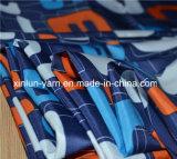 Tela da impressão dos desenhos animados da estrela azul de Partysu para o vestido/folha