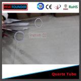 Resistente tubo de cuarzo Industrial personalizada de alta temperatura
