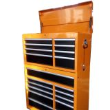 新しいデザイン金属の経済的な仕事台のガレージの道具箱のローラーのキャビネット