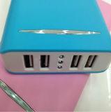 USB 4 para la batería móvil de la potencia de la capacidad grande de la batería del teléfono celular de la fuente