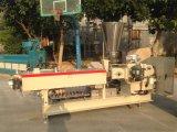 Da extrusora plástica gêmea do laboratório do parafuso de PP/PE/PVC máquina de granulagem