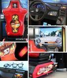 Velocidade louca quente 3D da máquina de jogo da competência de carro da venda