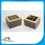 خشبيّة مجوهرات حل يعبّئ صندوق مع عادة علامة تجاريّة