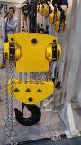 30tonセリウムは手動起重機のチェーン起重機にチェーンブロックを渡した