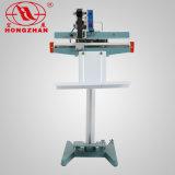 제정성과 제품을 인쇄하는 밥을%s 부대 필름 그리고 종이를 위한 Alumunim 그리고 철 프레임 페달 밀봉 기계