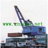 PoortKraan van de Kraanbalk van de haven de Enige voor de Behandeling van de Aak