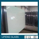 Reines weißes dekoratives lackiertes Glas