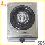 Singolo fornello di gas dell'acciaio inossidabile del bruciatore del ghisa (JP-GC101)