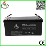 batterie d'acide de plomb scellée par VRLA de 12V 200ah pour le système à énergie solaire