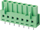 Bloco terminal Pluggable masculino com os encabeçamentos dobro do Pin da fileira (WJ15EDGA-3.5)