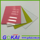 Rote Farben-Acrylblatt mit 0.8mm-30mm