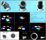 Luz principal móvil de la fabricación LED de Guangzhou con pequeño control de la carrocería DMX