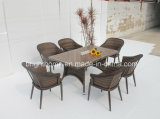 Напольное Dining Chair и Table Set/Wicker Furniture/сад Outdoor Furniture