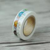 테이프 도매를 인쇄하는 도매 복면 일본 Washi 테이프 쓰기 테이프